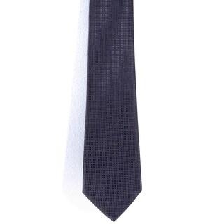 Davidoff 100-percent Silk Solid Dark Purple Neck Tie