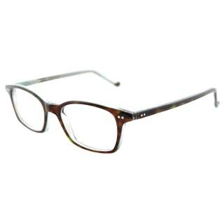 Lafont Monsieur 675 Transparent Brown Rectangle 49mm Eyeglasses