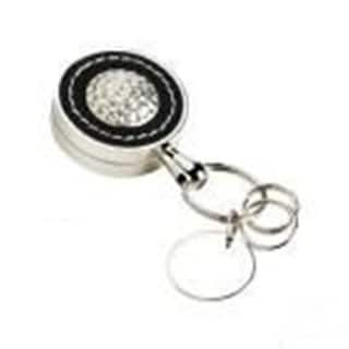 Elegance Executive Style Leather Golf Key Fob with Key Extender