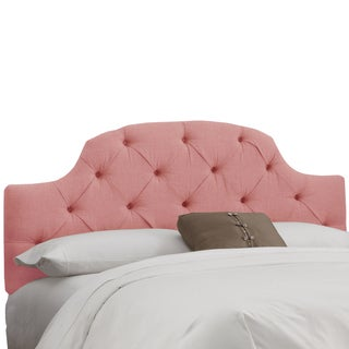 Skyline Furniture Petal Linen Tufted Headboard
