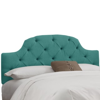 Skyline Furniture Laguna Linen Tufted Headboard