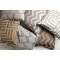 Decorative Beak 22-inch Poly or Feather Down Filled Pillow