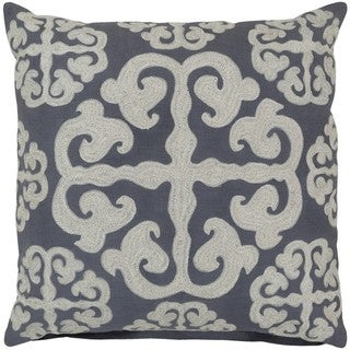 Decorative Bank 18-inch Poly or Feather Down Filled Pillow
