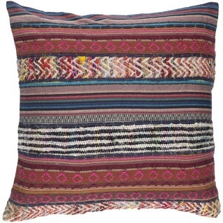 Decorative High 20-inch Poly or Feather Down Filled Pillow