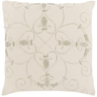 Decorative Keys 20-inch Poly or Down Filled Pillow