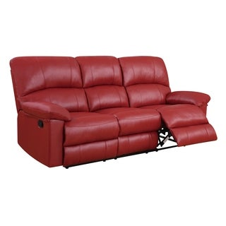Reclining Sofa Red