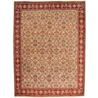 Herat Oriental Persian Hand-knotted Bidjar Wool Rug (8'6 x 11'4) - 8'6 x 11'4
