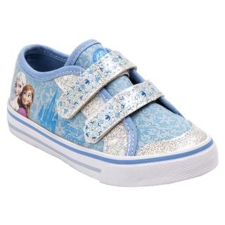 Disney Girls' Frozen Canvas Sneakers