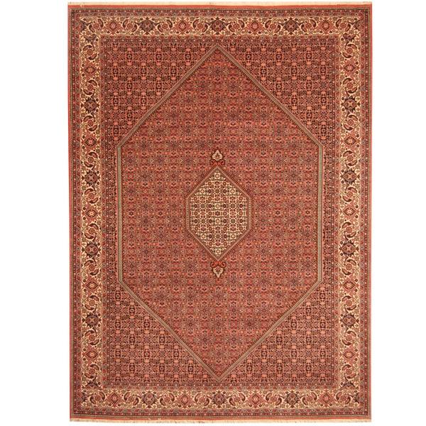Herat Oriental Persian Hand-knotted Bidjar Wool Rug (8'2 x 11'1) - 8'2 x 11'1