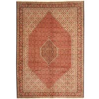 Handmade Herat Oriental Persian Bidjar Wool Rug  - 8'2 x 11'5 (Iran)
