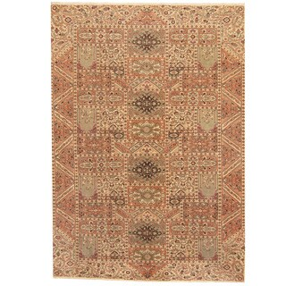 Herat Oriental Persian Hand-knotted 1960s Semi-antique Tabriz Wool Rug (8'2 x 11'9)