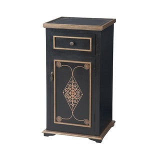 Dimond Home Medecci Chest in Black and Gold