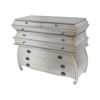 Dimond Home Durham Chest in Silver