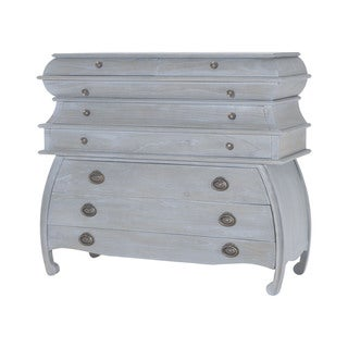 Dimond Home Durham Chest in Gravesend Grey
