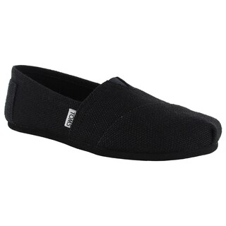 Toms Women's Classic Burlap Slip On Casual Shoes (2 options available)