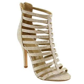 Beston CC96 Women's Caged Heels