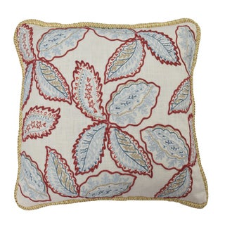 Waverly Treasure Trove 20-inch Embroidered Decorative Throw Pillow