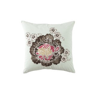 Waverly Eastern Myth Radish 18-inch Embroidered Accent Throw Pillow