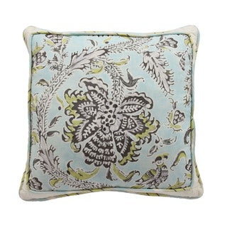 Waverly Holi Festival Reversible Square Decorative Throw Pillow