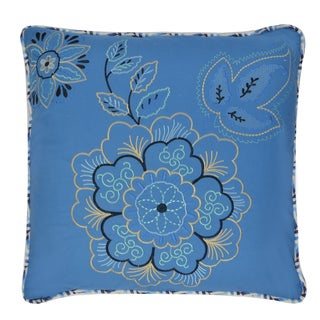 Waverly Charismatic Reversible Embroidered Decorative Throw Pillow