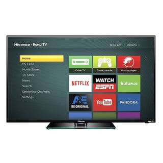 Hisense 40H4C 40-inch 1080p Roku Smart LED TV (Refurbished)