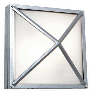 Access Lighting Oden LED Light Outdoor Satin Wall Sconce