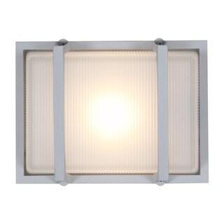 Access Lighting Neptune 1-light Large Outdoor Satin Marine Grade Wall Fixture