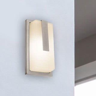 Access Lighting Neptune 1-light Outdoor Satin Marine Grade Wall Fixture