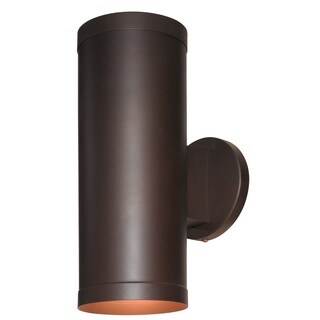 Access Lighting Poseidon 2-light Outdoor Bronze Wallwasher