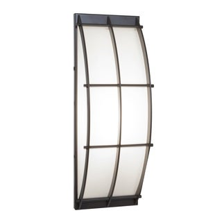 Access Lighting Tyro 1-light Outdoor Bronze Wall Fixture
