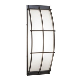 Access Lighting Tyro 1-light Outdoor Bronze Wall Fixture