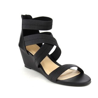 Beston DB23 Women's Wedge Ankle Sandals