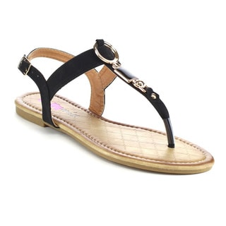 Beston DB30 Women's T-strap Sandals