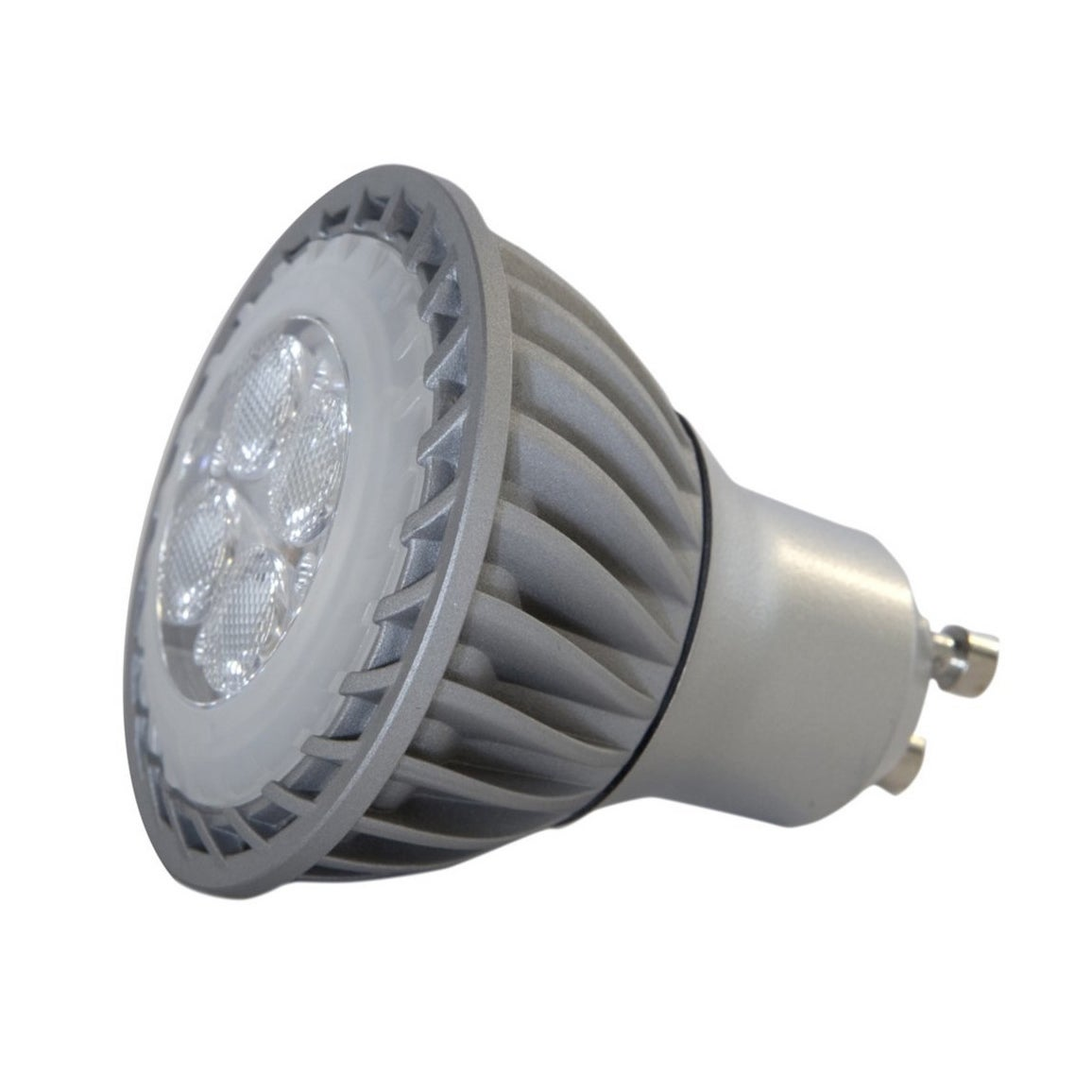 GE LED4DGU10/Nfl Tp 3PK, Grey (Glass)