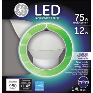 GE LED PAR38 75W Replacement Floodlight