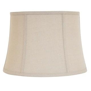 Designer Natural Finish Linen Bell Shade