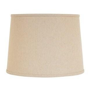 Designer Light Tan Hardback Empire Shade