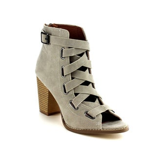 Beston DB26 Women's Stacked Heel Ankle Booties