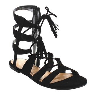 Beston GB14 Women's Lace Up Gladiator Sandals