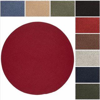 Rhody Rug Woolux Wool Braided Rug (6' Round) - 6'