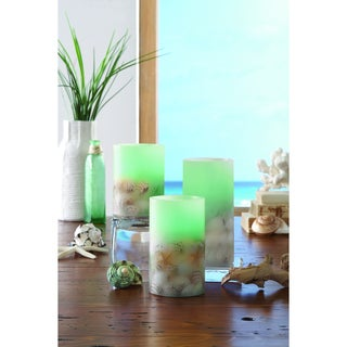 Apothecary 3-Piece LED Candle Set with Remote