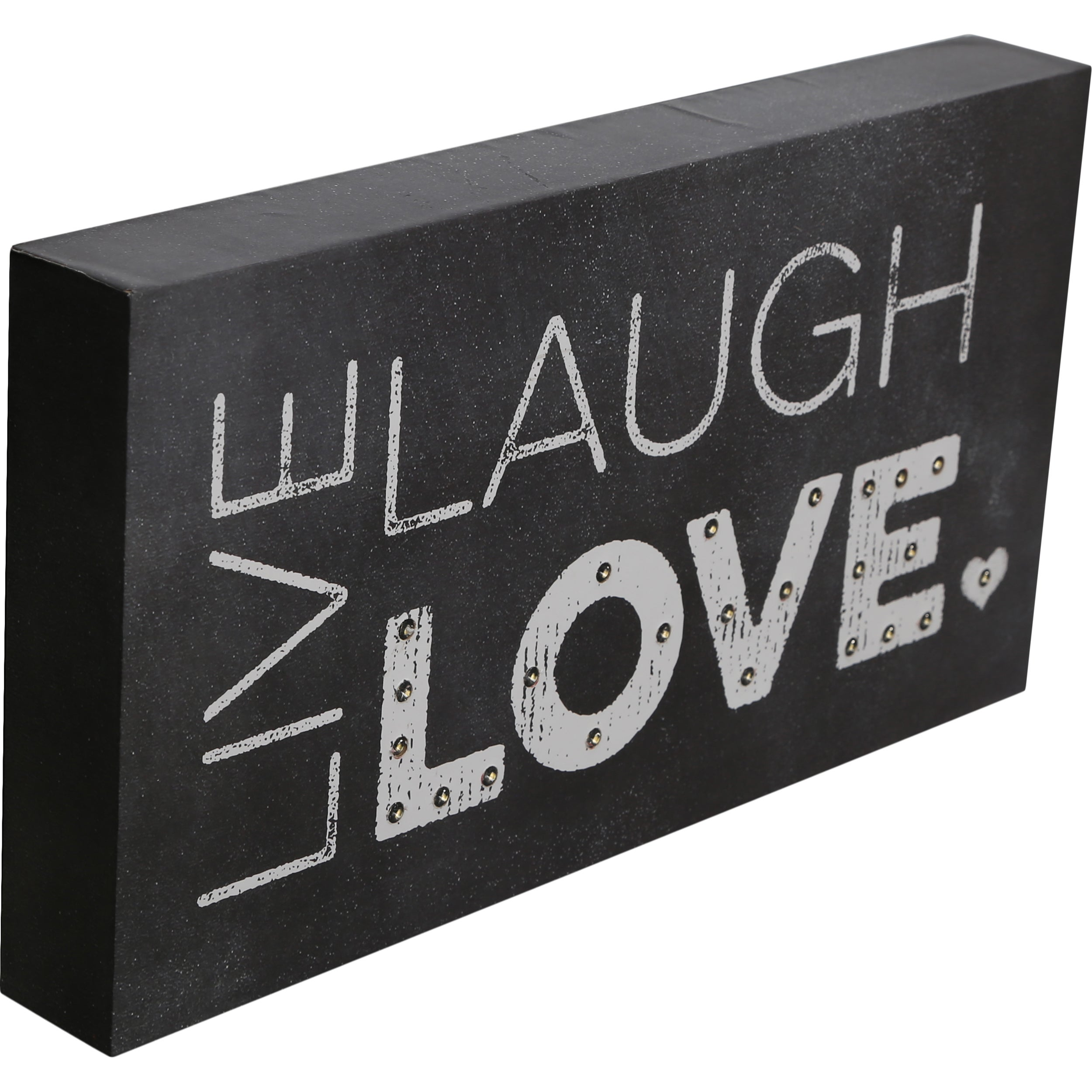 MerchSource Order Wood Marquee Plaque with LED Lights- Li...