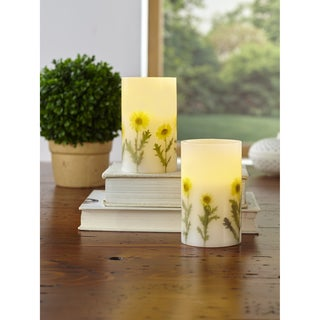 Order 2-Piece LED Candle Set with Daily Timer
