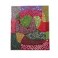 Hand-tufted Hans Andersen Home Adane Multicolored Wool Rug (4' x 4'6)