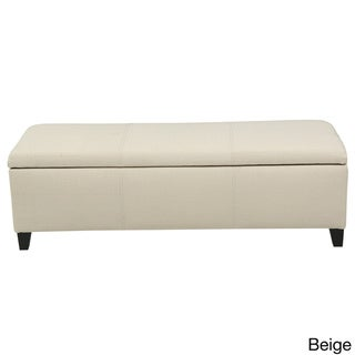 Deals List: Lucinda Fabric Storage Ottoman Bench by Christopher Knight Home