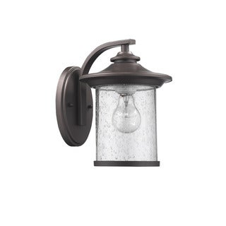Chloe Transitional 1-light Oil Rubbed Bronze Outdoor Wall Lantern