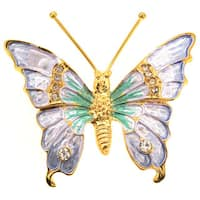 Light Lavender Butterfly Pin Brooch