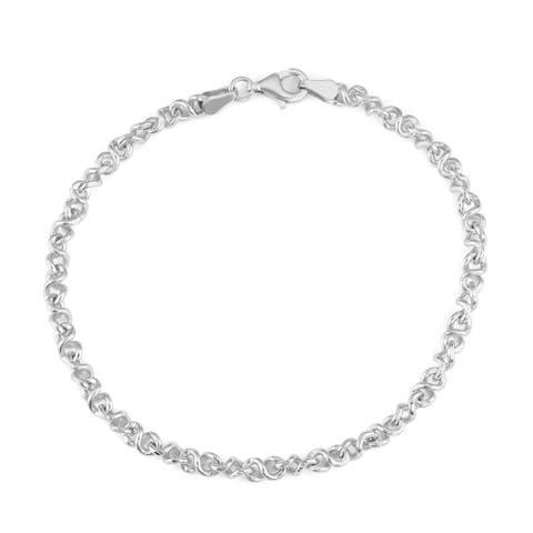 c6f0f9ceaee6d Buy Rose Sterling Silver Bracelets Online at Overstock | Our Best ...