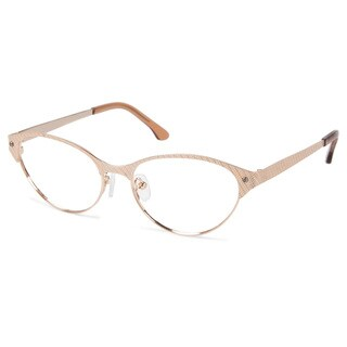 Cynthia Rowley Eyewear CR5004 No. 12 Japanese Gold Cat-Eye Metal Eyeglasses