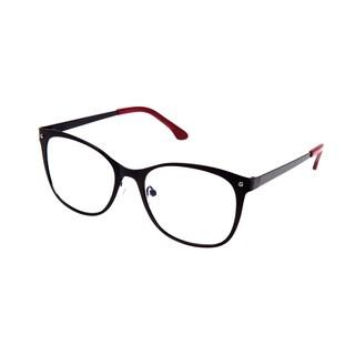 Cynthia Rowley Eyewear CR5006 No. 87 Black Square Metal Eyeglasses